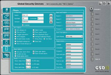 GSD wire-free access control increases security on NUI